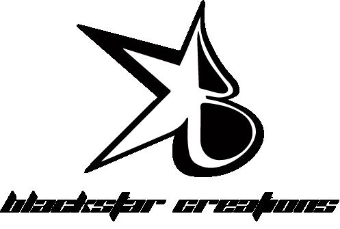 Blackstar Logo Black